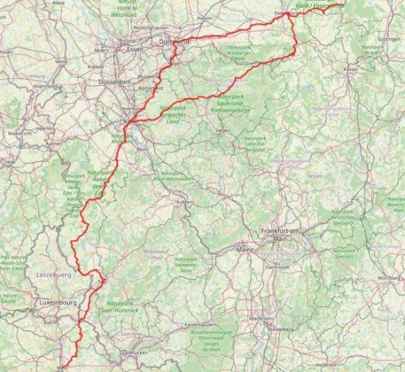 Mein Camino in Deutschland